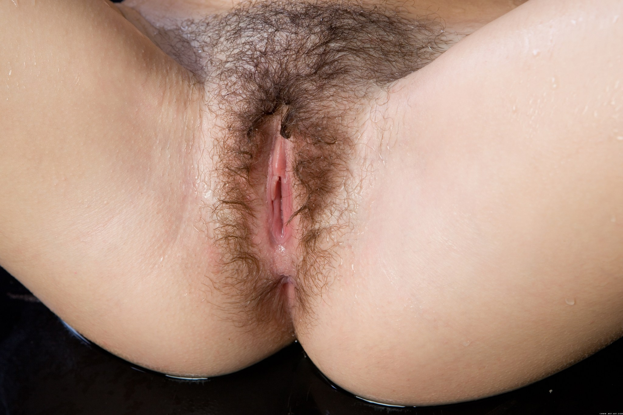 Beautiful Hairy Pussy I Love How It Goes All The Way Down Around